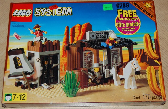 Review 6755 Sheriff S Lock Up Lego Historic Themes