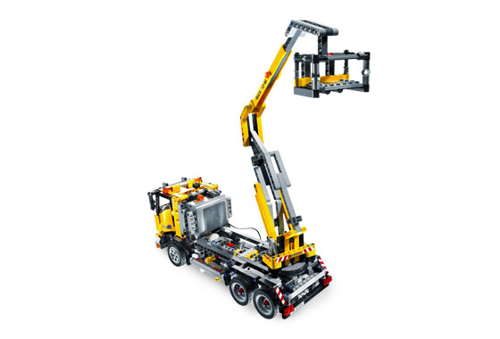 lego technic voiture camion grue monte charge 8292 new ebay. Black Bedroom Furniture Sets. Home Design Ideas