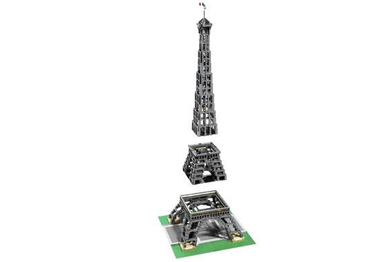 Eiffel Tower Lego Set Set 10181-1 Eiffel Tower