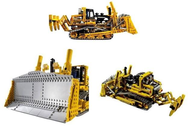 lego technic voiture grue bulldozer camion 8275 moteur ebay. Black Bedroom Furniture Sets. Home Design Ideas
