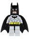 Batman, Light Bluish Gray Suit with Black Mask