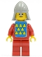 Classic - Yellow Castle Knight Red - with Vest Stickers