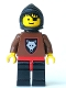 Wolf People - Wolfpack 2 with Brown Arms, Black Hood, Black Plastic Cape
