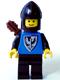 Black Falcon - Black Legs, Black Chin-Guard, Quiver (new style torso with pointier bottomed shield)