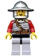 Kingdoms - Lion Knight Scale Mail with Chest Strap and Belt, Helmet with Broad Brim, Vertical Cheek Lines