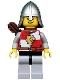 Kingdoms - Lion Knight Quarters, Helmet with Neck Protector, Quiver, Open Grin