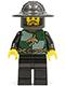 Kingdoms - Dragon Knight Quarters, Helmet with Broad Brim, Moustache and Stubble