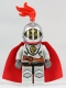 Kingdoms - Lion Knight Breastplate with Lion Head and Belt, Helmet with Fixed Grille, Cape