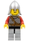Kingdoms - Lion Knight Scale Mail with Chest Strap and Belt, Helmet with Neck Protector, Open Grin