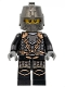 Kingdoms - Dragon Knight Scale Mail with Chains, Helmet Closed, Gray Beard