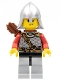 Kingdoms - Lion Knight Scale Mail with Chest Strap and Belt, Helmet with Neck Protector, Quiver, Smirk