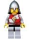 Kingdoms - Lion Knight Quarters, Helmet with Neck Protector, Open Grin