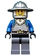 Castle - King's Knight Scale Mail, Crown Belt, Helmet with Broad Brim, Open Grin