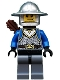 Castle - King's Knight Scale Mail, Crown Belt, Helmet with Broad Brim, Quiver, Smirk and Stubble Beard