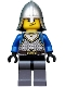 Castle - King's Knight Scale Mail, Crown Belt, Helmet with Neck Protector, Smirk