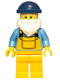 Fisherman (Dark Blue Cap) - Minifig only Entry
