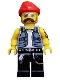 Motorcycle Mechanic - Minifig only Entry