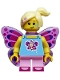 Butterfly Girl - Minifig only Entry