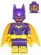 Batgirl, Yellow Cape, Dual Sided Head with Smile/Scared Pattern