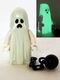 Ghost with Pointed Top Shroud and Ball and Chain