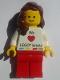 Lego Kladno Girl We Heart LEGO bricks Minifigure