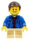 Boy, Denim Jacket, Tan Short Legs (4000022)