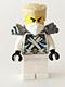 Zane - Titanium Ninja White, Tan Hair