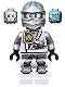 Zane - Titanium Ninja Light Bluish Gray, Scabbard
