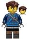 Jay - Hair, The LEGO Ninjago Movie (70617)