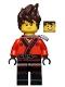 Kai - Hair, Flat Silver Katana Holder, The LEGO Ninjago Movie (70617)