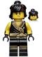 Cole - Hair, The LEGO Ninjago Movie, Arms with Cuffs, Hair (70617)