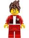 Kai - Hair, Red Legs and Jacket, Bandage on Forehead - The LEGO Ninjago Movie (70620)