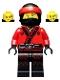 Kai - Fire Mech Driver, The LEGO Ninjago Movie (70615)
