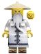 Sensei Wu - White Robe, Zori Sandals, The LEGO Ninjago Movie (70608)