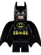 Batman - Black Suit with Yellow Belt and Crest (Type 1 Cowl)