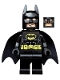 Batman - Black Suit with Yellow Belt and Crest (Type 2 Cowl)