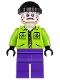 The Joker's Henchman - Lime Jacket