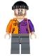 Two-Face's Henchman, Orange and Purple - Beard