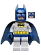 Batman - Light Bluish Gray Suit with Yellow Belt and Crest, Dark Blue Mask and Cape  (Type 2 Cowl)