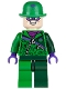 The Riddler - Green and Dark Green Zipper Outfit