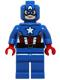 Captain America - Blue Suit, Brown Belt