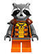 Rocket Raccoon - Orange Outfit