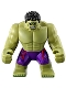 Hulk - Giant, Dark Purple Pants with Dark Red Pattern