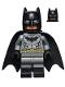 Batman - Dark Bluish Gray Suit, Gold Belt, Black Hands, Spongy Cape, Black Boots (76035)