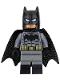 Batman - Dark Bluish Suit, Gold Belt, Black Hands, Spongy Cape, Large Bat Logo