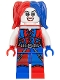 Harley Quinn - Blue and Red Hands and Pigtails (76053)