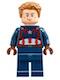 Captain America - Detailed Suit - Dark Brown Eyebrows