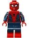 Spider-Man - Black Web Pattern, Red Torso Large Vest, Red Boots