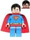 Superman - Red Eyes on Reverse, Spongy Soft Knit Cape (Book b16sh01pl)