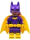 Batgirl, Yellow Cape, Dual Sided Head with Smile/Annoyed Pattern
